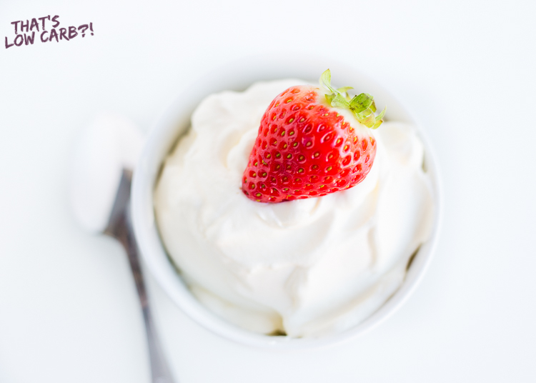Keto cheesecake fluff | Low Carb Cheesecake