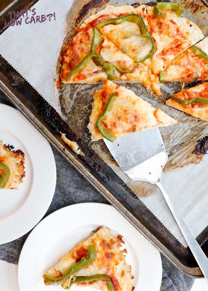Chicken Crust Pizza | Keto Pizza Crust