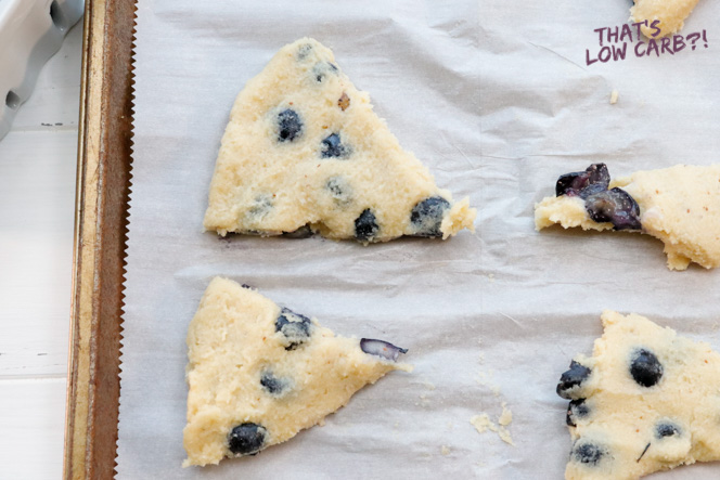 Keto Blueberry Scone