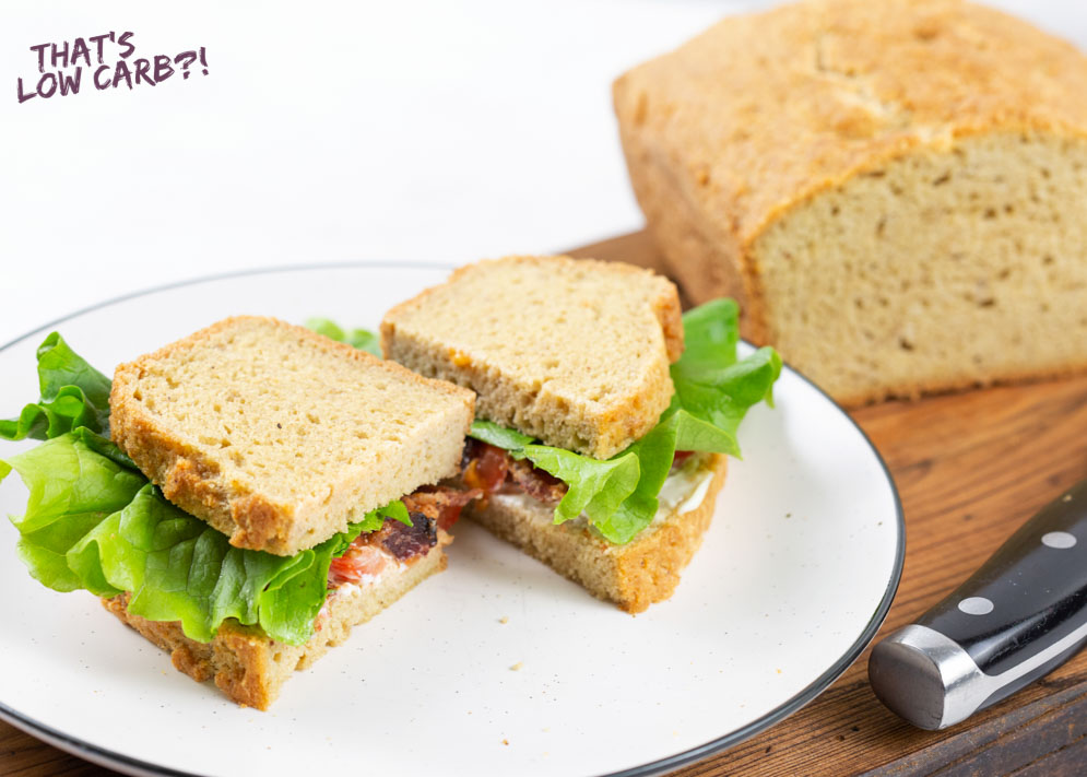 Keto Bread with Almond Flour | Low Carb Recipes by That's ...