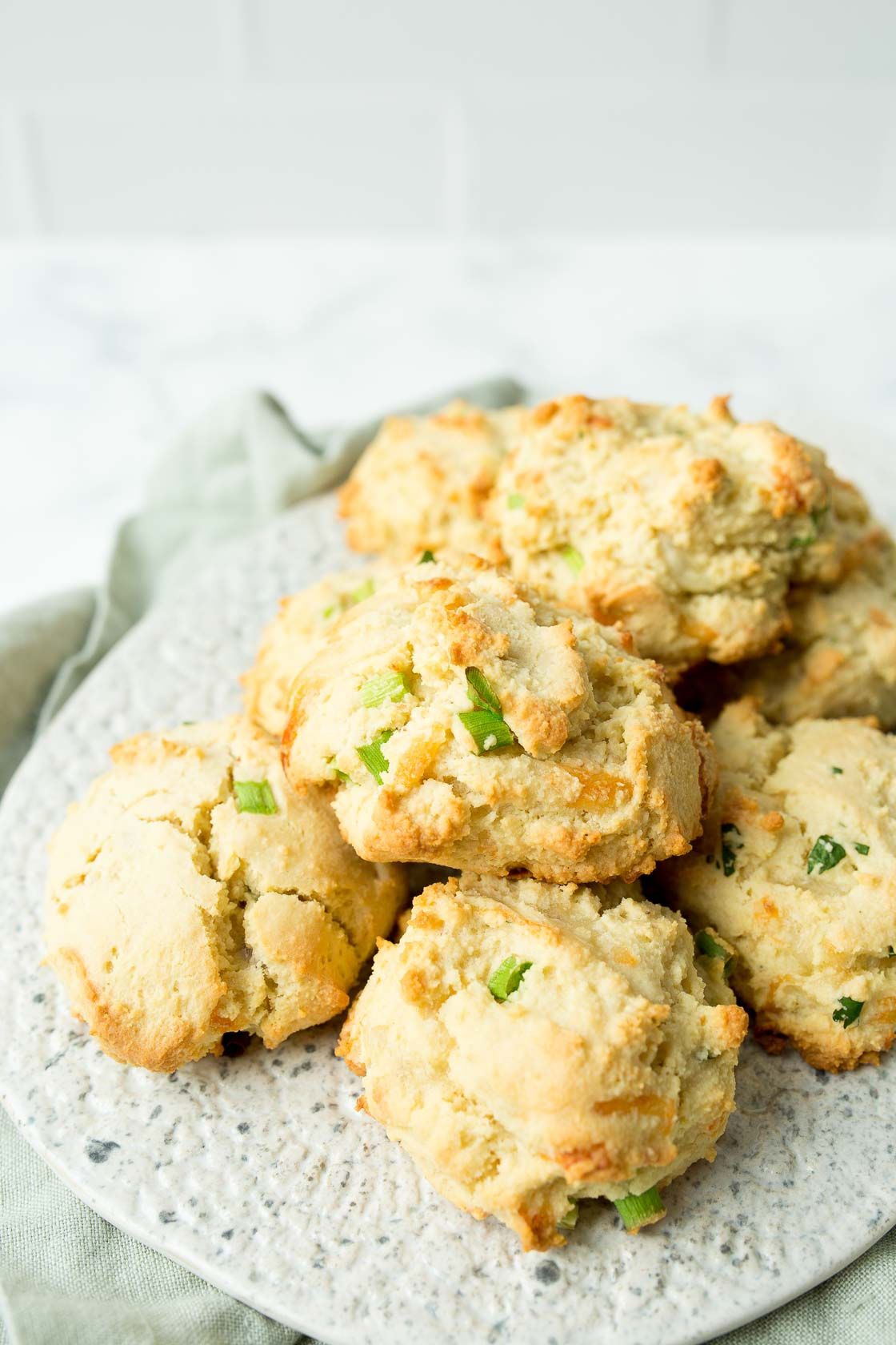 Cheddar Bay Biscuits with Almond Flour